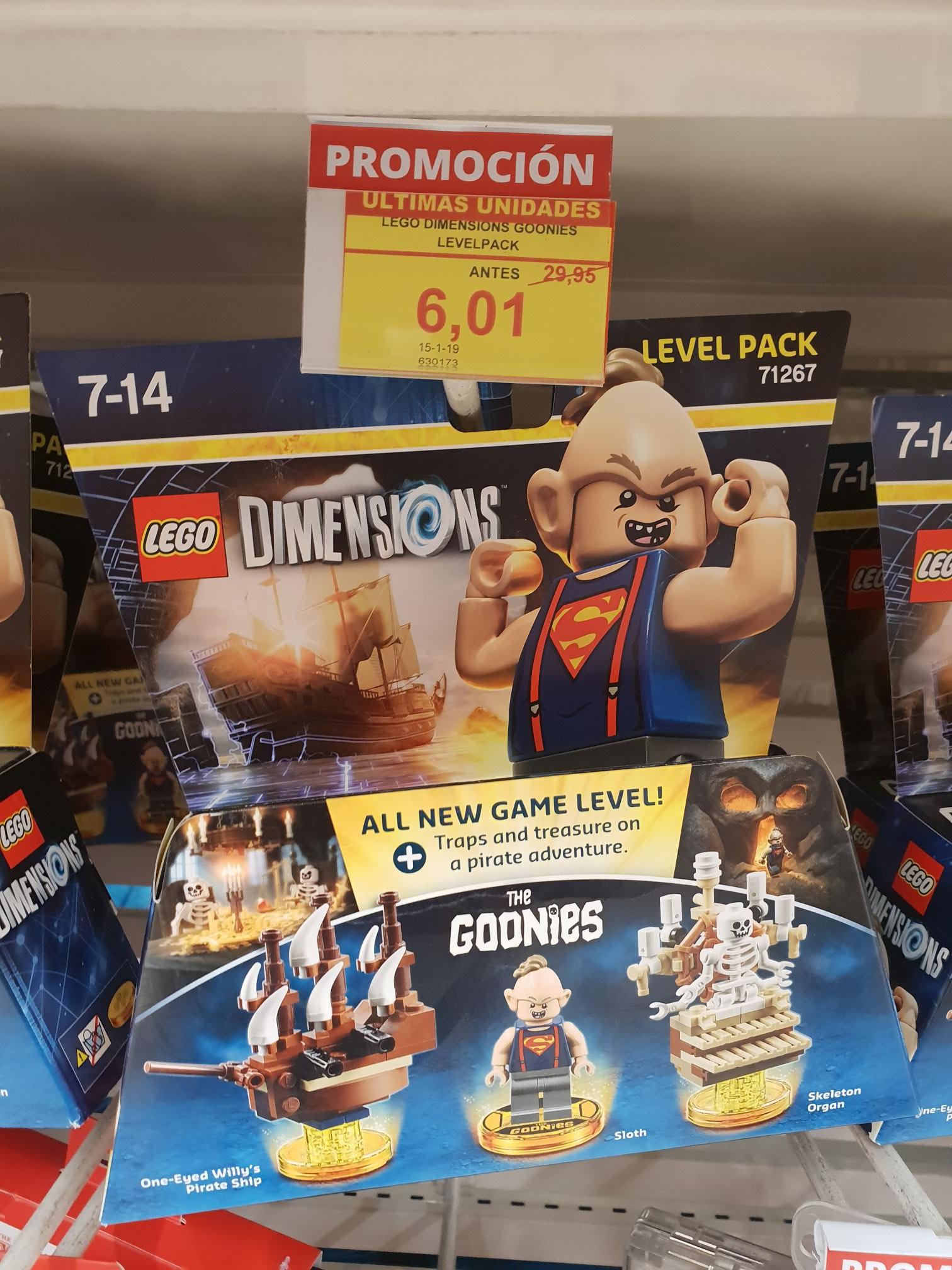 Varios Lego Dimensions en Alcampo Majadahonda