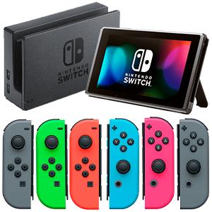 Nintendo Switch + 2 Joycons (Reacondicionada)