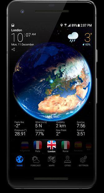 App 3D Earth Pro GRATIS, tienes 3 días para descargarla