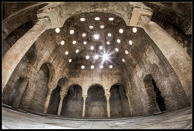 Visita GRATIS EL Bañuelo , Baños Árabes en Granada