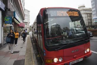 Autobús gratuito menores de 13 años en A Coruña