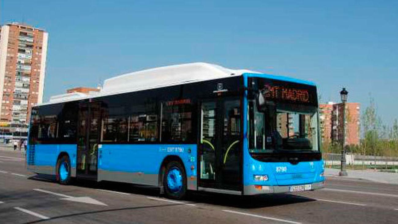 Autobus entre Sol y El Retiro GRATIS