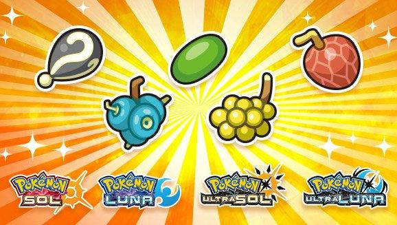 Pokémon , hasta 12 bayas inusuales para coleccionistas, gratis