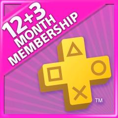 12+3 meses PSN PLUS (Store Indonesa)