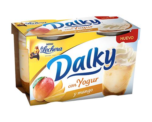 Prueba gratis Dalky con yogur