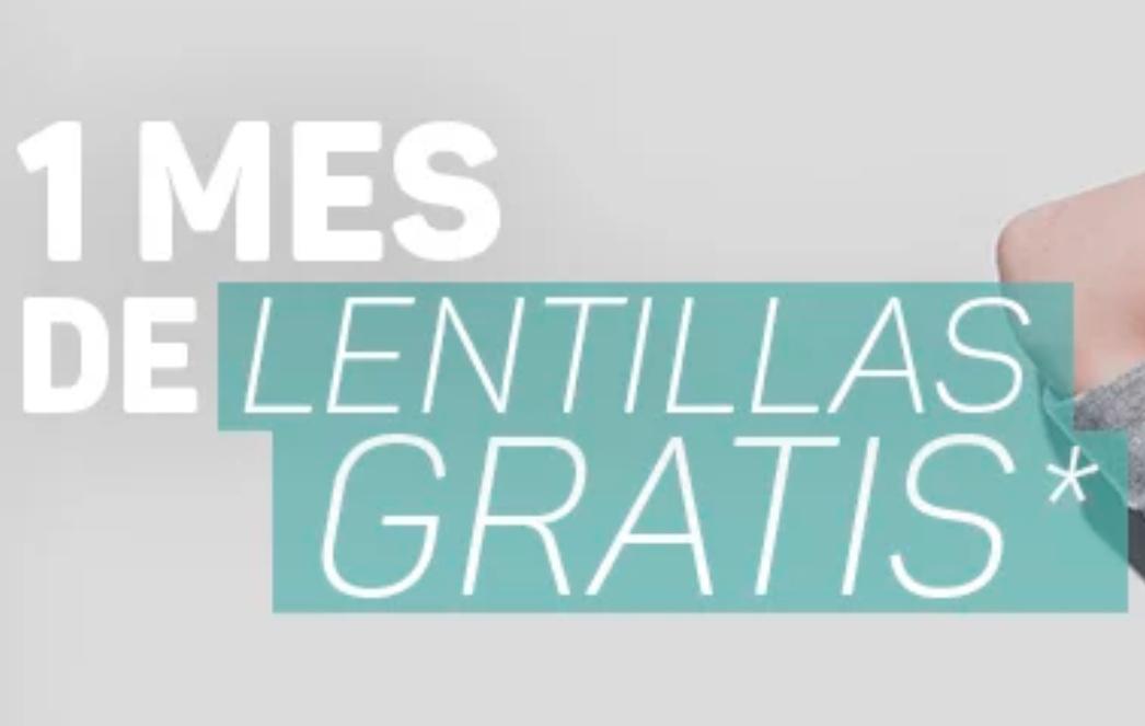 ¡1 mes de lentillas gratis con Optica2000 del Corte Inglés!