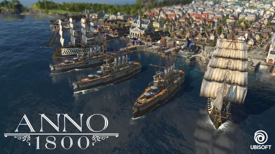 """PC (Uplay): Beta """"ANNO 1800"""" (GRATIS) hasta el 04 de Febrero"""