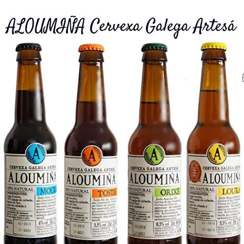 Pack de cervezas Artesanas Degustación Aloumiña