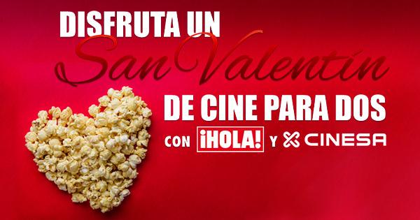 Cinesa 2x1, San Valentín