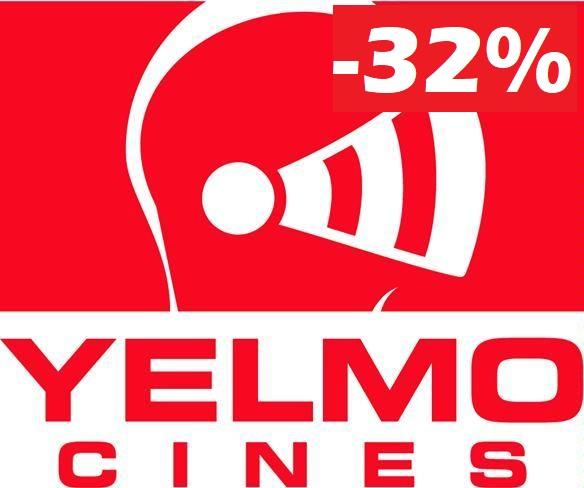 [Carezza!] Descuentos del 32% en YELMO CINES, TODO EL AÑO