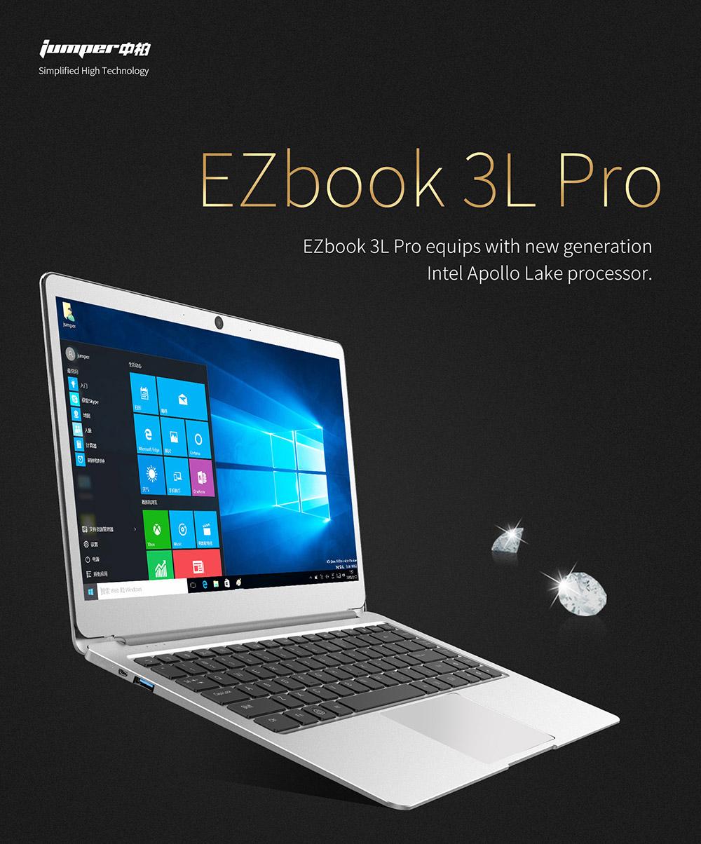 """Jumper EZbook 3L Pro 14"""" / N3450 6GB RAM 64GB eMMC"""