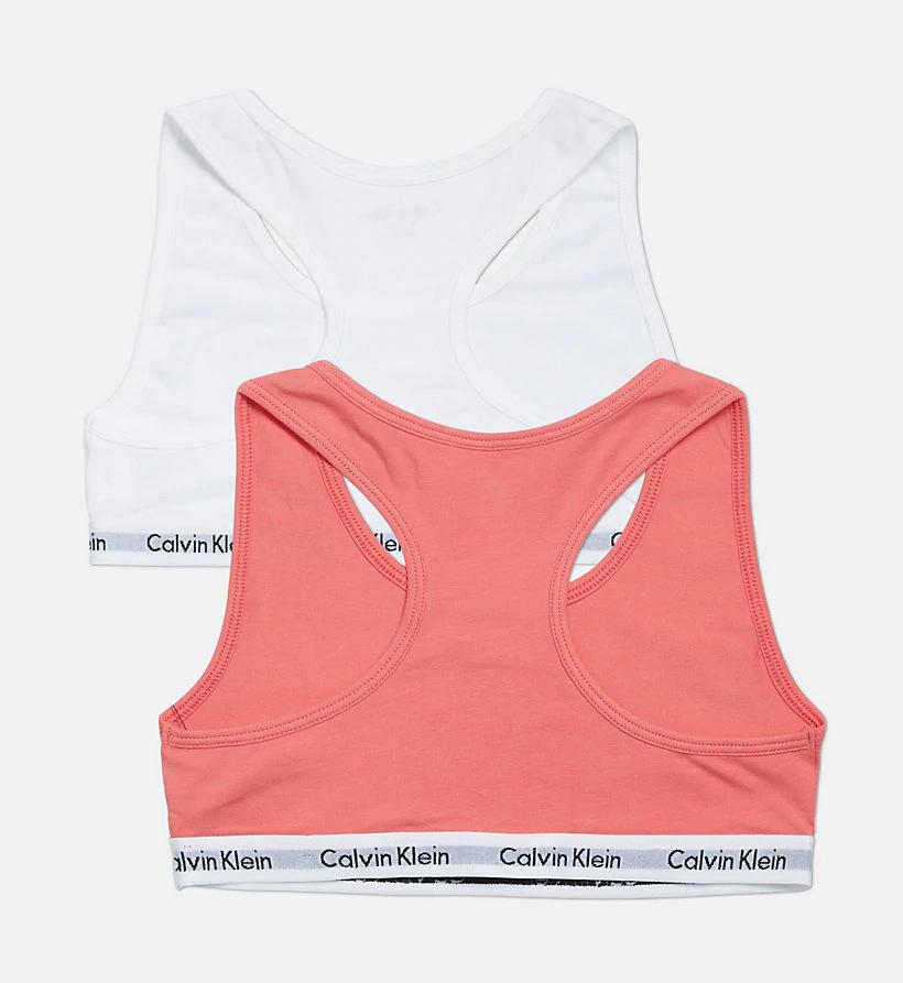 CALVIN KLEIN Pack de 2 corpiños para niña - Modern Cotton
