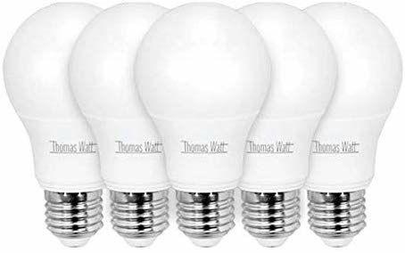 Pack 5 bombillas LED 9w e27
