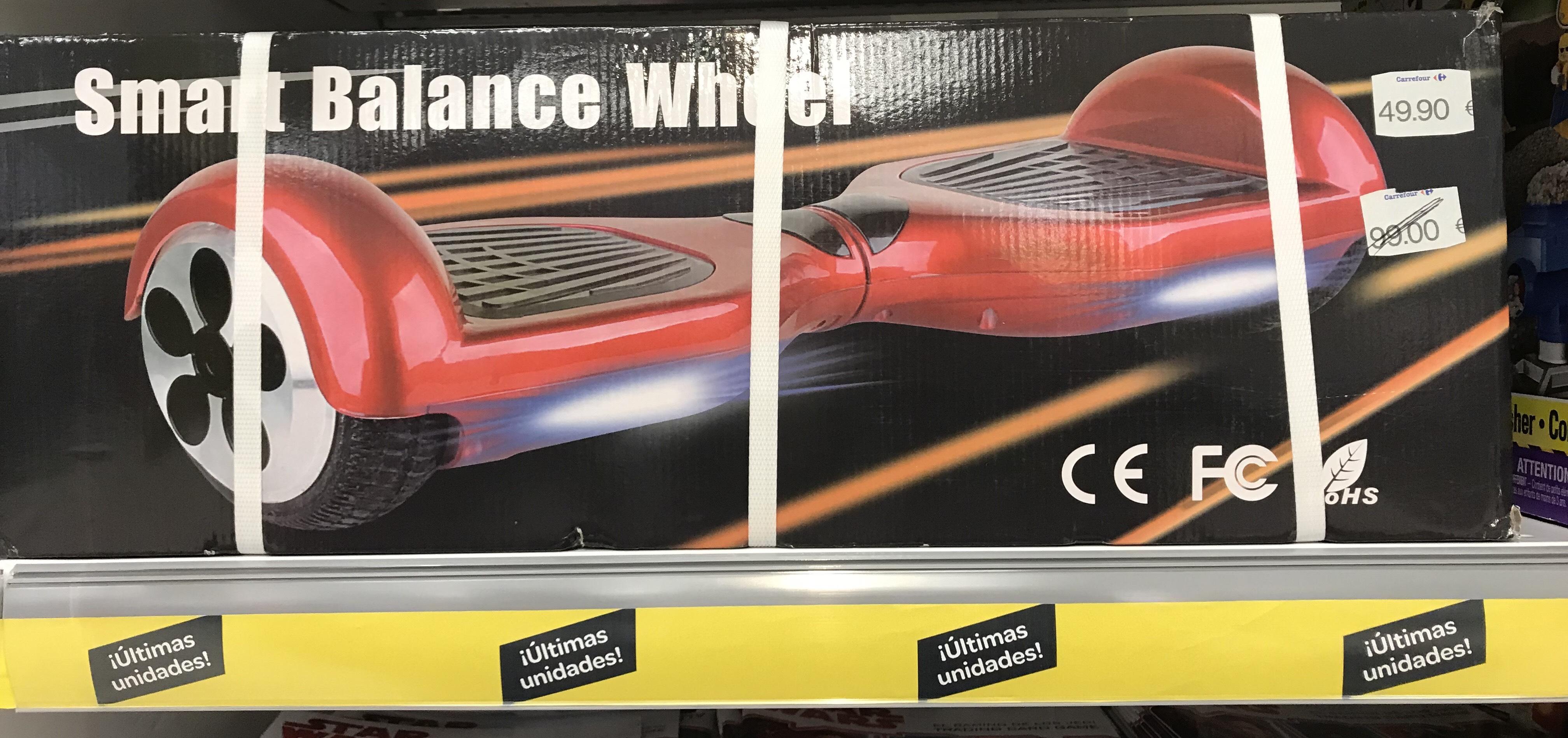 ¡Patinete Hoverboard sólo 49,90€! Carrefour