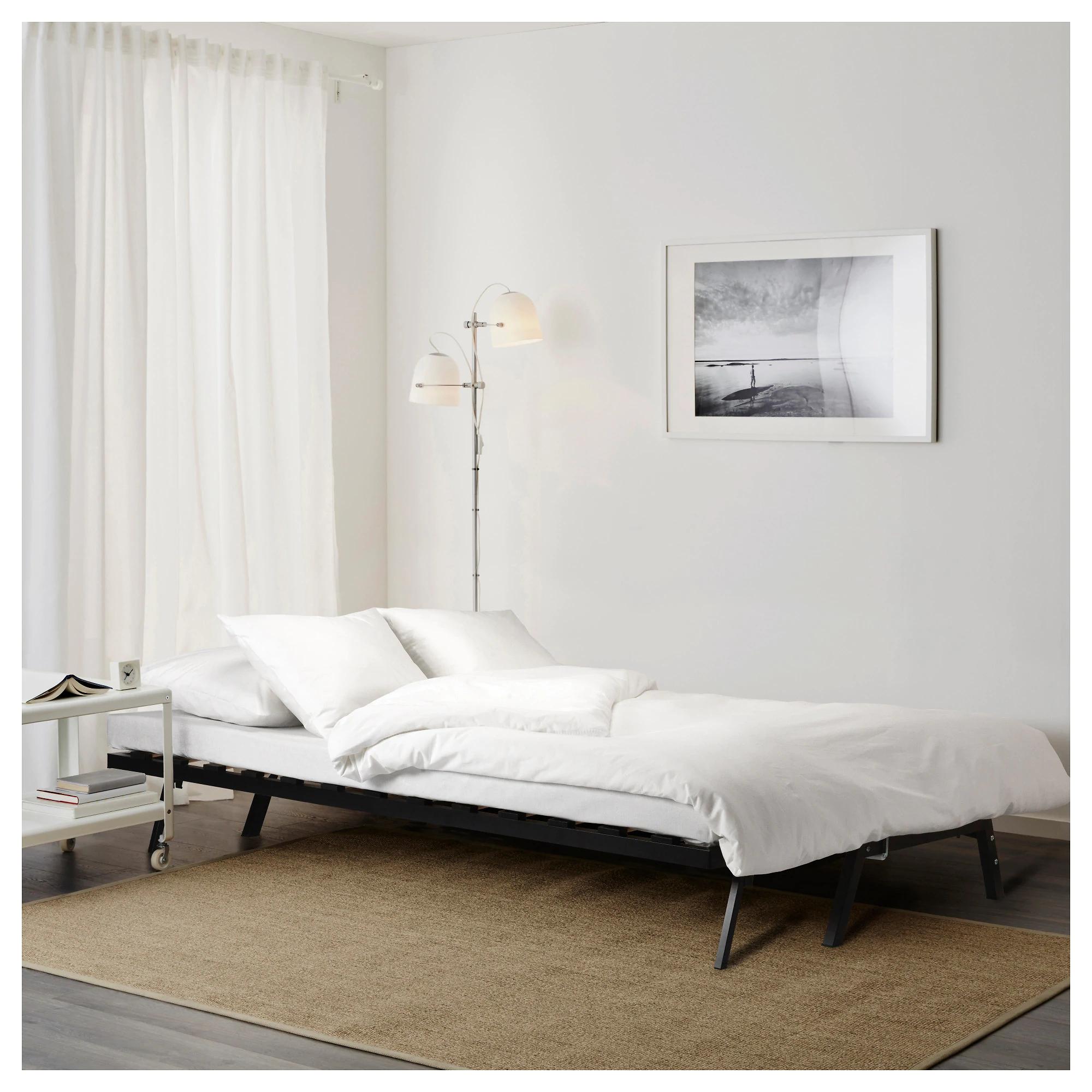 Sofá cama con colchón en Ikea