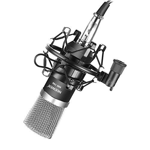 Minimo historico microfono Neewer de condensador