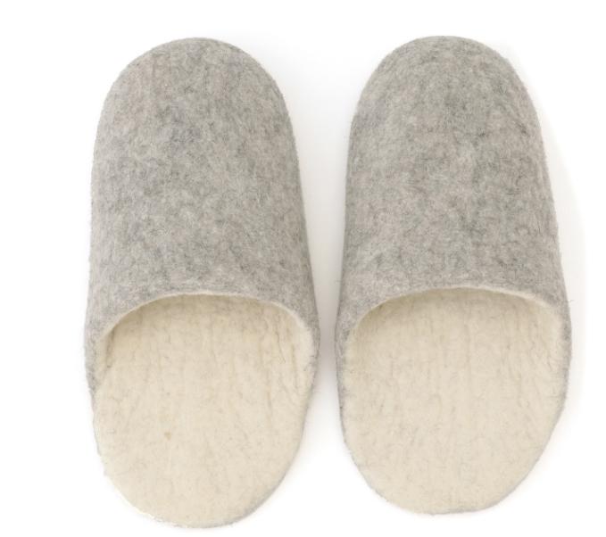 Zapatillas de fieltro, L MUJI