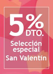 Casa del Libro te ofrece 5% de descuento en selección especial San Valentín
