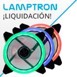 Liquidación en productos Lamptron