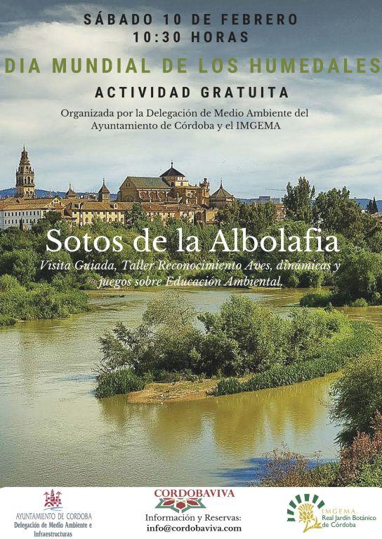 Visita guida con taller por los Sotos de la Albolafía (Córdoba)