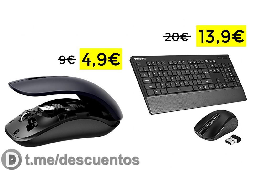 Ratón inalámbrico Vtin solo 4.99€