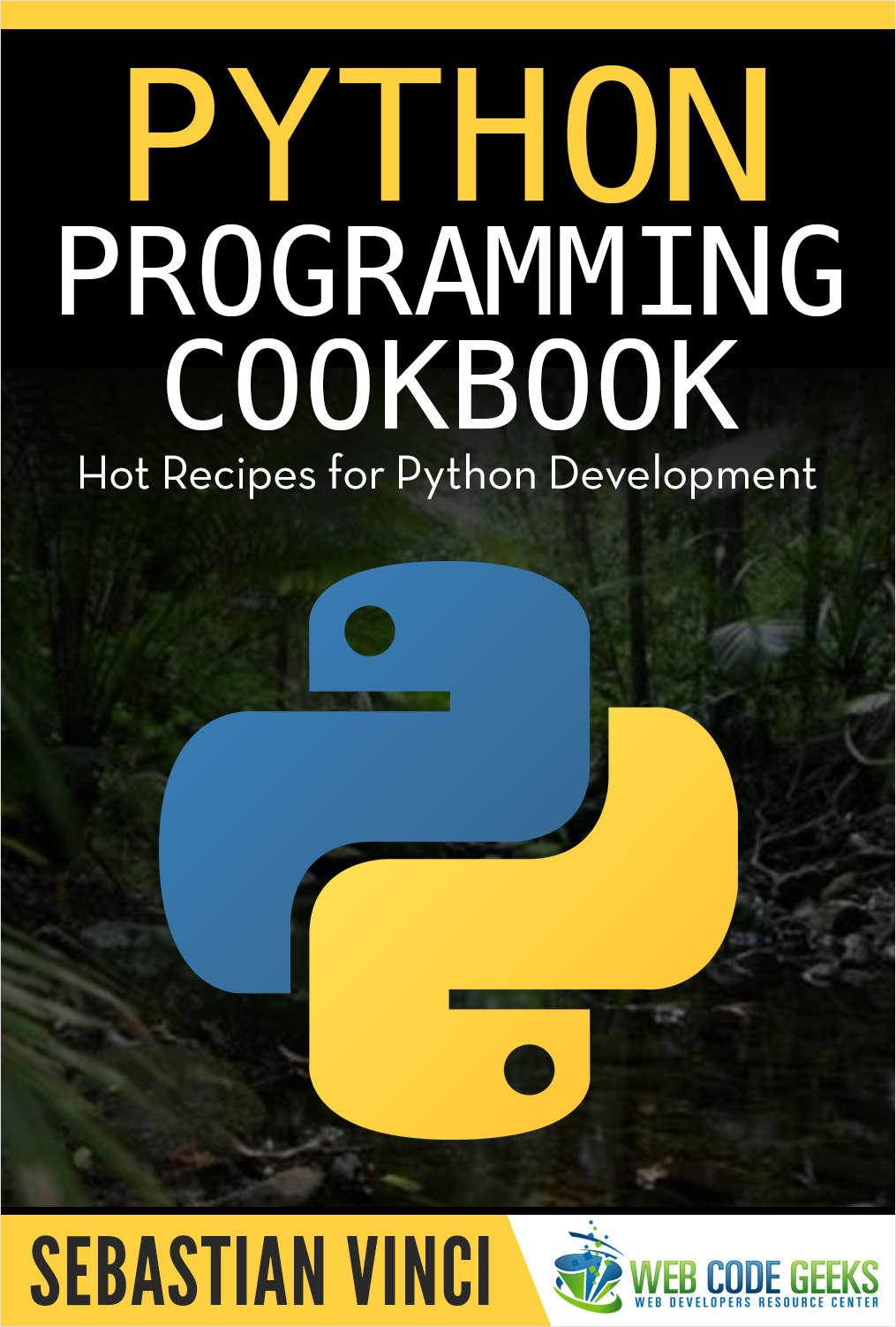 Python Programming Cookbook, gratis
