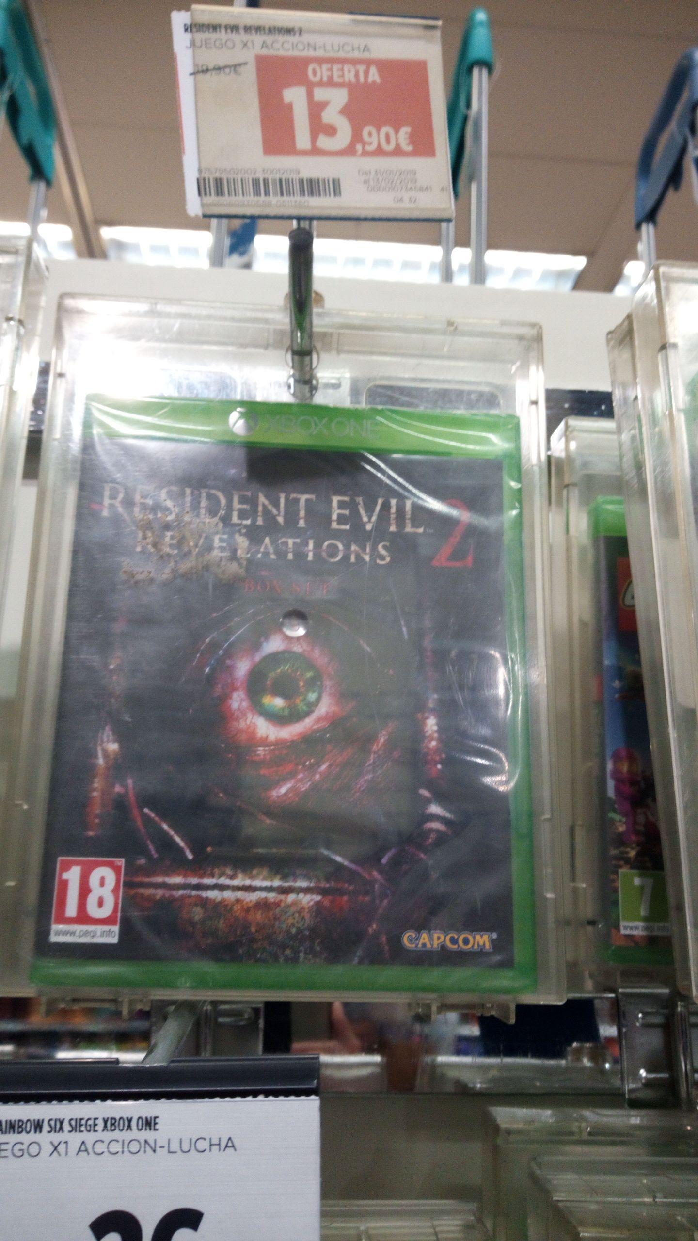 Resident Evil Revelations 2 Box set Xbox One Hipercor los arcos (Sevilla)