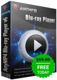 AnyMP4 Blu-ray Player, gratis
