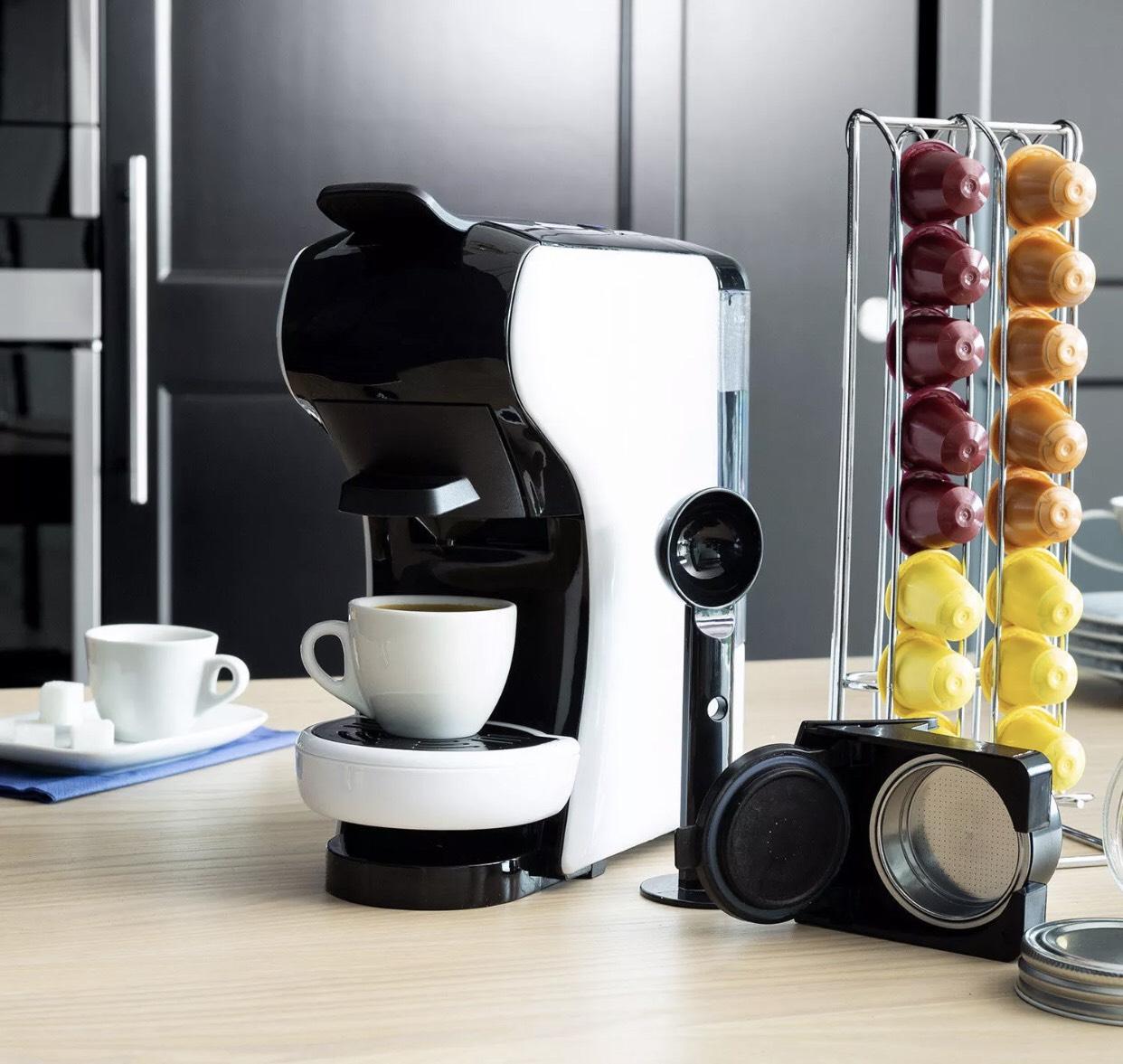 ¡Cafetera Armelli 3 en 1 compatible con Nespresso, Dolce gusto y Coffee Express! Envío gratis