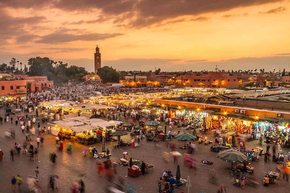 Madrid - Marrakech ida y vuelta por 26€