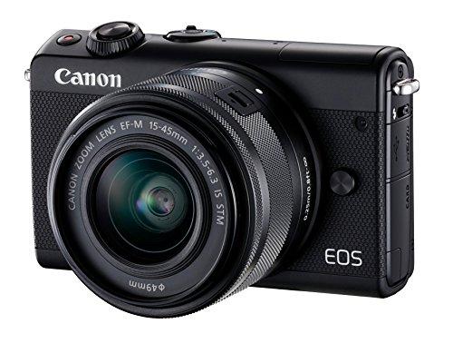 Canon EOS M100 - Cámara Evil compacta de 24.2 MP + objetivo EF-M 15-45 mm