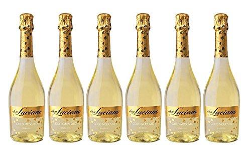 Don Luciano Charmat. Moscato Blanco. Vino Espumoso - 6 Botellas x 750 ml