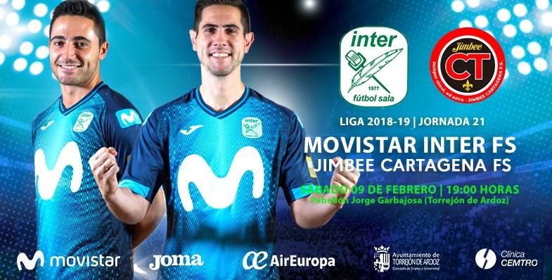 LNFS Entrada gratis Inter Movistar-Cartagena para desempleados en Torrejón