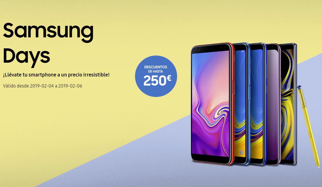 Samsung Days, web online