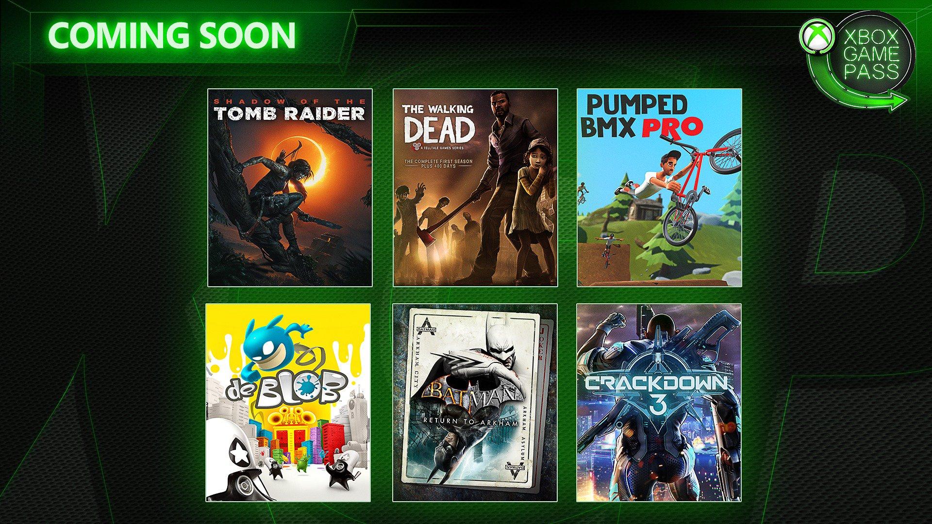 Xbox Game Pass Febrero 2019