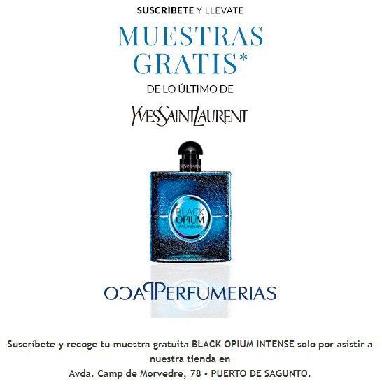 Muestra gratis BLACK OPIUM INTENSE (Solo para Valencia)