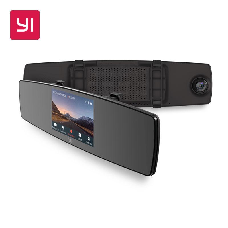 YI Mirror Dash Camera, un espejo retrovisor con doble cámara - Desde España