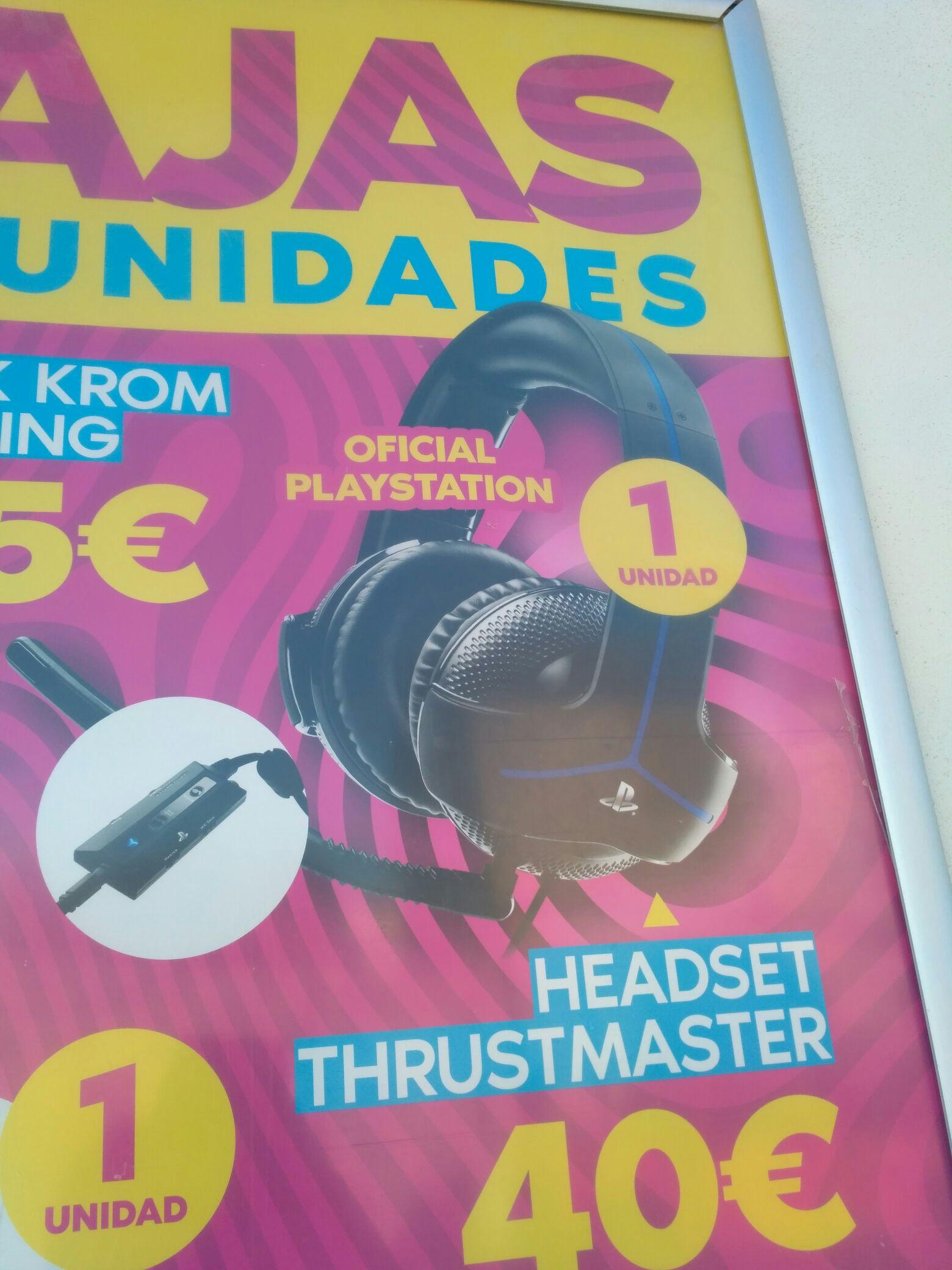 Auriculares thrustmaster