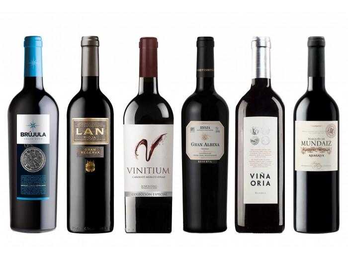 "Caja de cata 6 Vinos ""Reserva"""