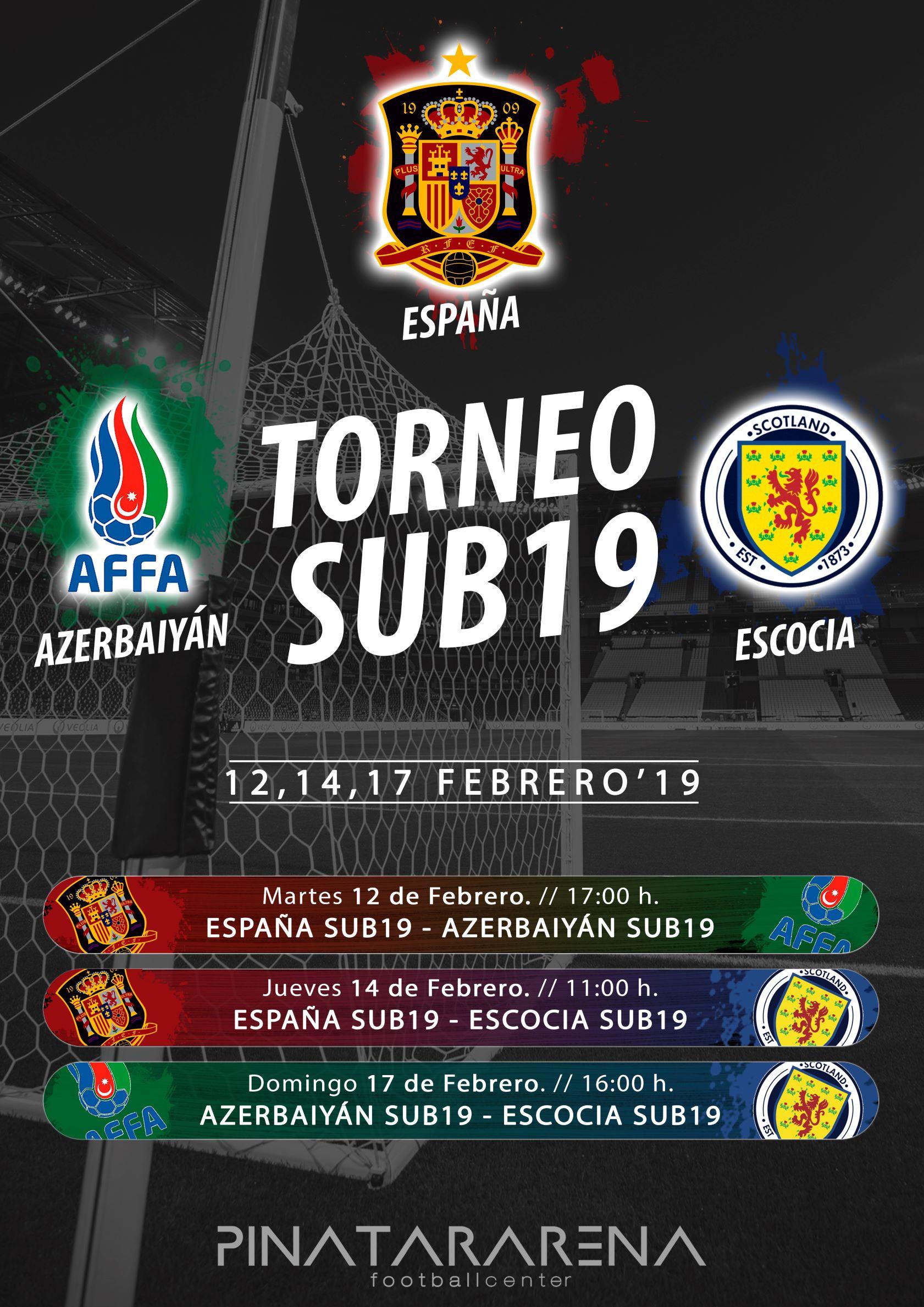 Entrada Gratis  Futbol España Torneo SUB19 en Murcia