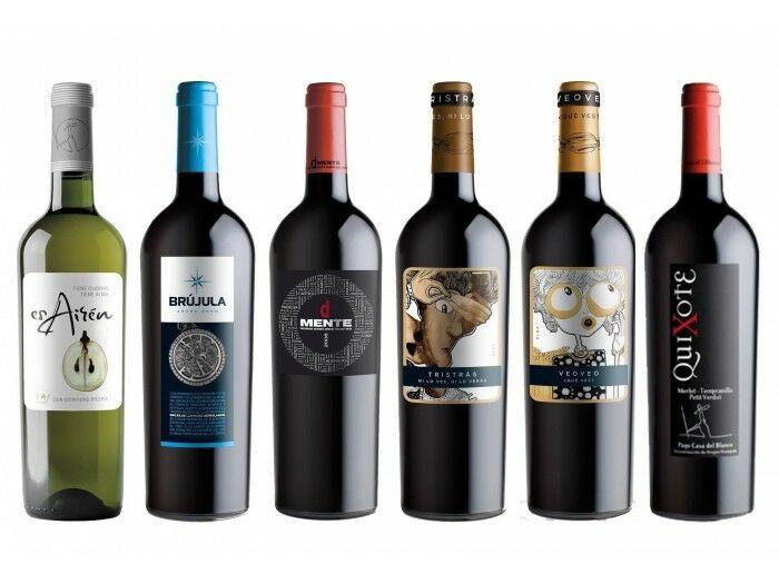 ¡Caja 6 botellas Vino Quixote (Edición Limitada Febrero)!