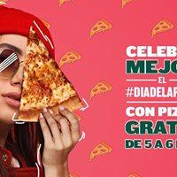 Pizza gratis -  Papa John's Pizza - todos los locales