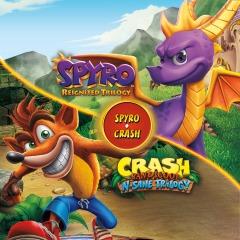 Crash & Spyro PS4 - PS Store