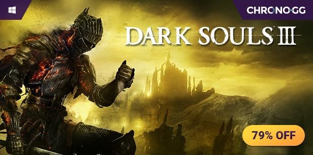 Dark Souls III en Chrono.gg acaba a las 6 pm