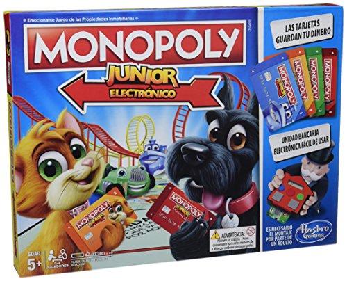 Monopoly Junior Electrónico 13,45€ y portuguesa 5,44€ (plus)