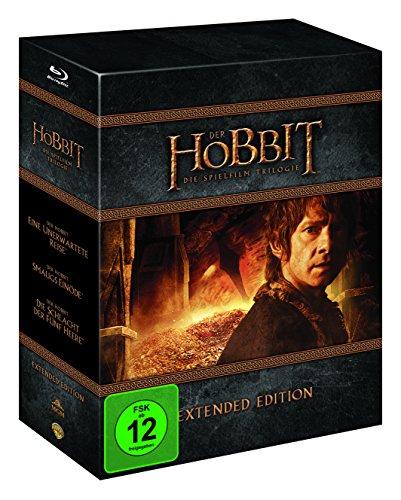 Blu-Ray - Trilogía El Hobbit - Edición Extendida [Alemania]
