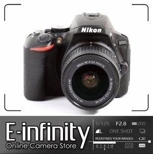 Nikon D5600 nueva con objetivo 18-55mm f3.5-5.6G VR