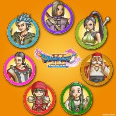 GRATIS DRAGON QUEST® XI - Avatares con ilustraciones de los héroes (PS4)