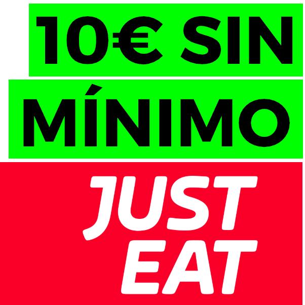10€ sin pedido mínimo en JustEat (desde la APP)