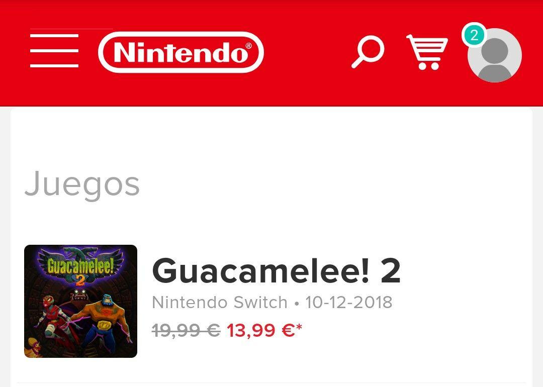 Guacamelee! 2 Switch - Mas barato que en pc!